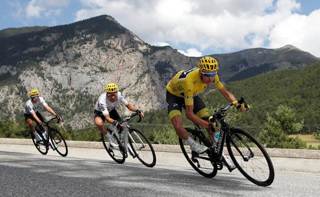 Chris Froome. /Christian Hartmann (Reuters)