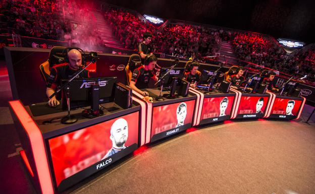 Imagen cedida por la Superliga Orange de una partida de League of Legends.