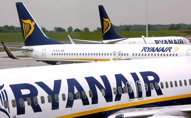 Beneficios de Ryan Air./EFE