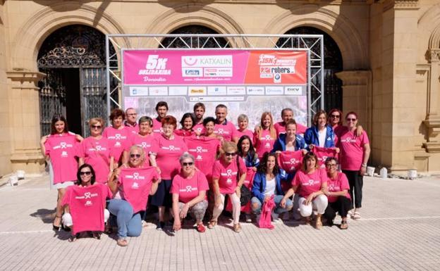 Presentación de la carrera-marcha solidaria Katxalin