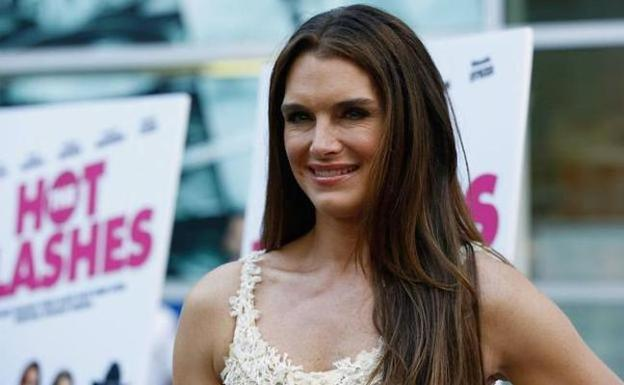 Brooke Shields plantó a Trump