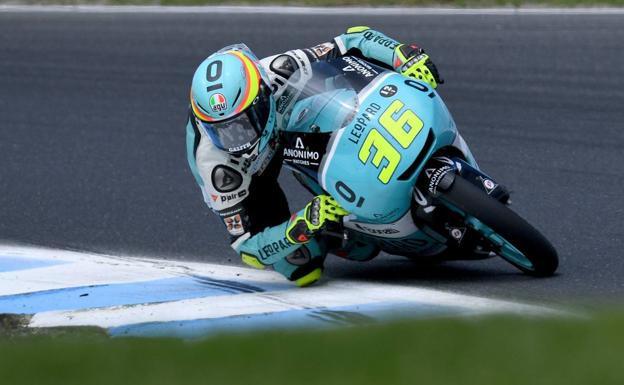 JOan MIr ha logrado la 'pole' en Moto3.