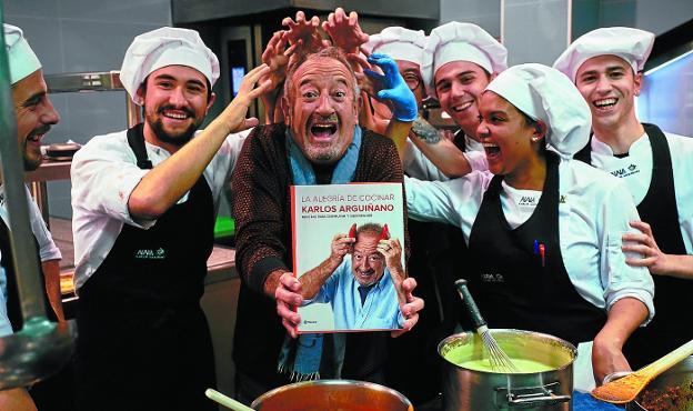 Argui ano cocina con alegr a el diario vasco for Cocina con alegria