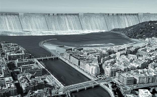 Si el cambio clim tico llegara a donostia el diario vasco for Escuela arquitectura donostia