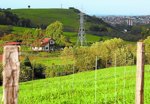 Vista del valle de Olaberria. /  F. DE LA HERA