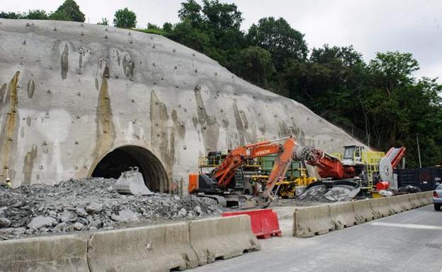 El lunes comienzan las obras del túnel de San Lorenzo de la A-15
