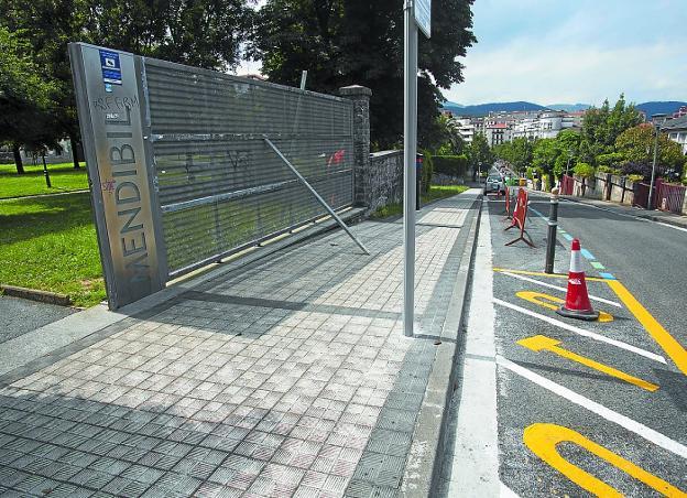 Mendibil comienza la reforma de caminos interiores e - Medias para la circulacion ...