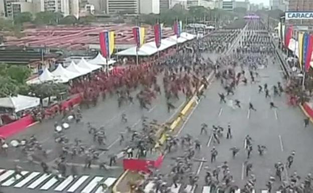 Atentan con drones y C4 contra Nicolás Maduro en desfile