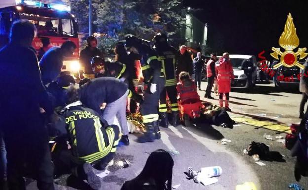 Seis muertos y cien heridos por estampida en discoteca - Mundo