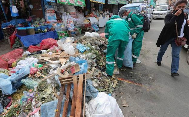 Sancionan a empresa que recoge la basura — La Paz