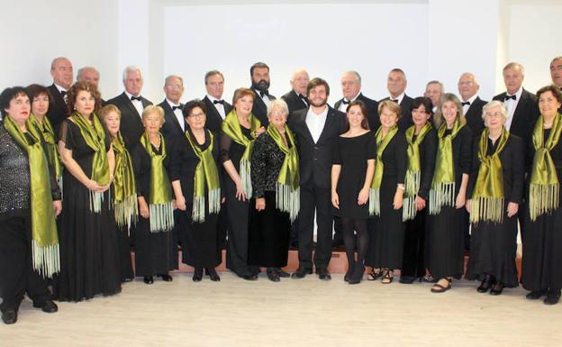 Concert of the Itxaso Choir in the Plenary Hall of the Donostia City Hall