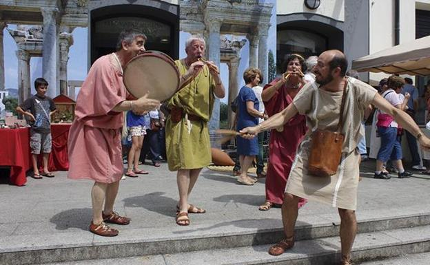 The Roman festival of Irun celebrates its tenth edition with news in the program
