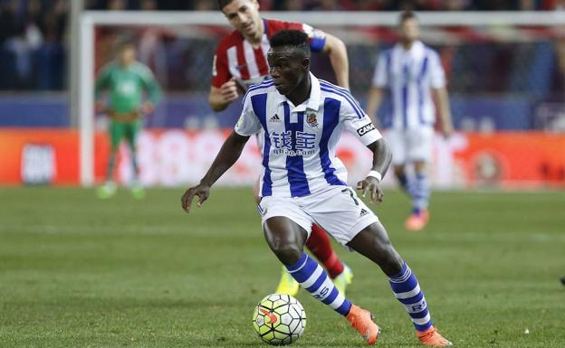 Bruma, en su etapa en la Real Sociedad. /Alterphotos