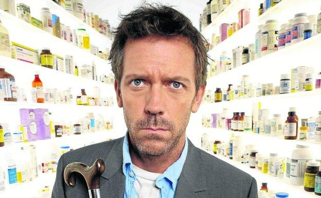 Hugh Laurie interpretó al doctor House. / R. C.