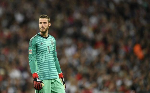 David De Gea, en Wembley.