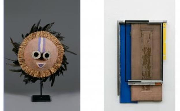 El arte africano acompaña al arte contemporáneo occidental en Kubo-Kutxa