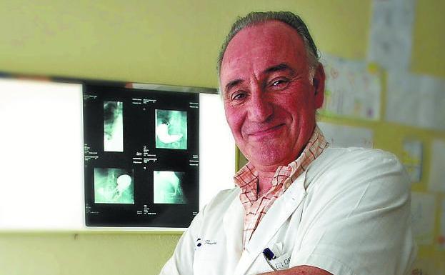 El doctor Luis Mari Elorz, en una imagen de archivo./F. DE LA HERA