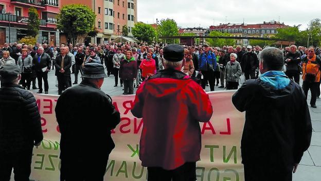 Defensa de las pensiones, también en Europa