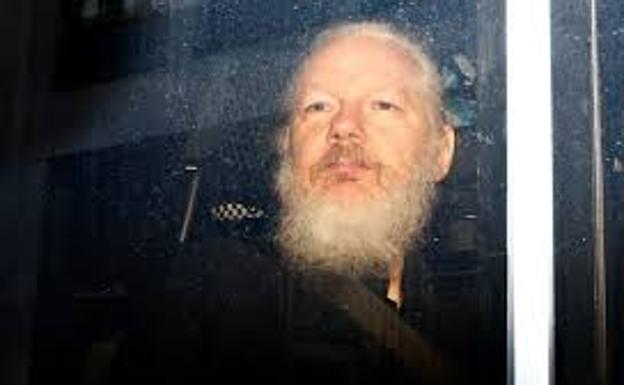 Julian Assange. /Reuters