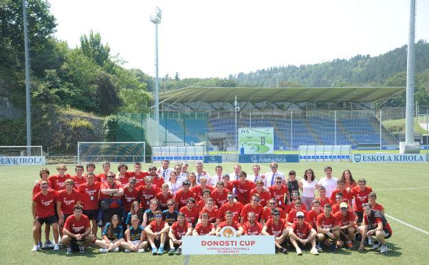 Donosti Cup Calendario Partidos.Donosti Cup Voluntarios Un Valor Seguro El Diario Vasco