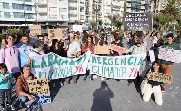 Fridays for Future reanuda hoy las protestas en Donostia