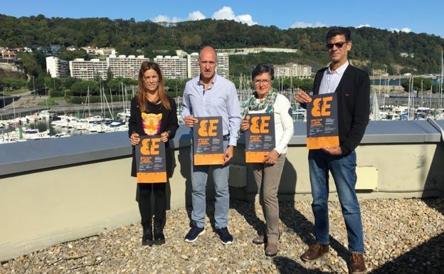Malvido, Silanes, Tranche y Ruiz Cabestany, tras la presentación de la sexta edición. / F. PORTU