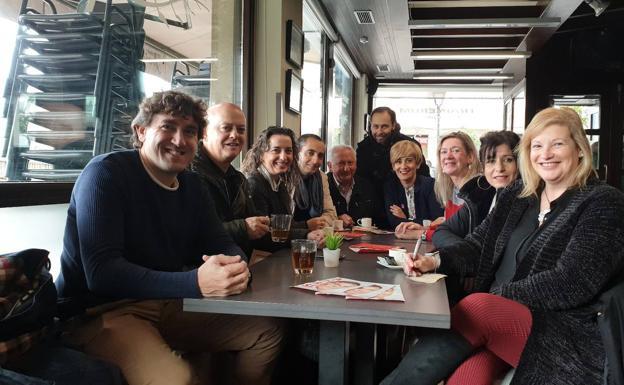Elorza dice que sin una mayoría socialista en las urnas «Vox estará sentado en el Consejo de Ministros» - Diario Vasco