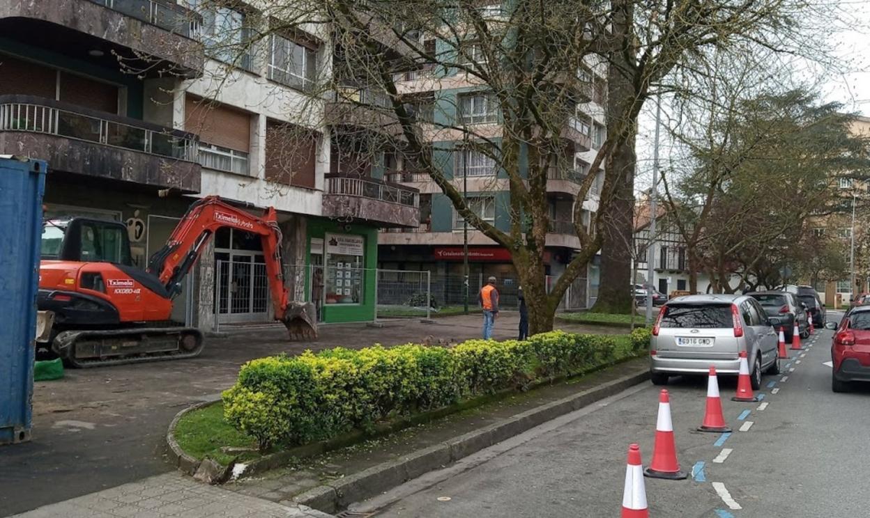 Irun suspende las obras públicas excepto las que resulten «inaplazables o urgentes»