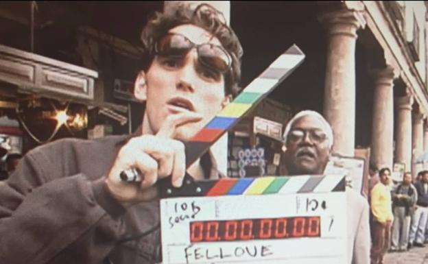 Matt Dillon en el rodaje de 'The Great Fellove'.