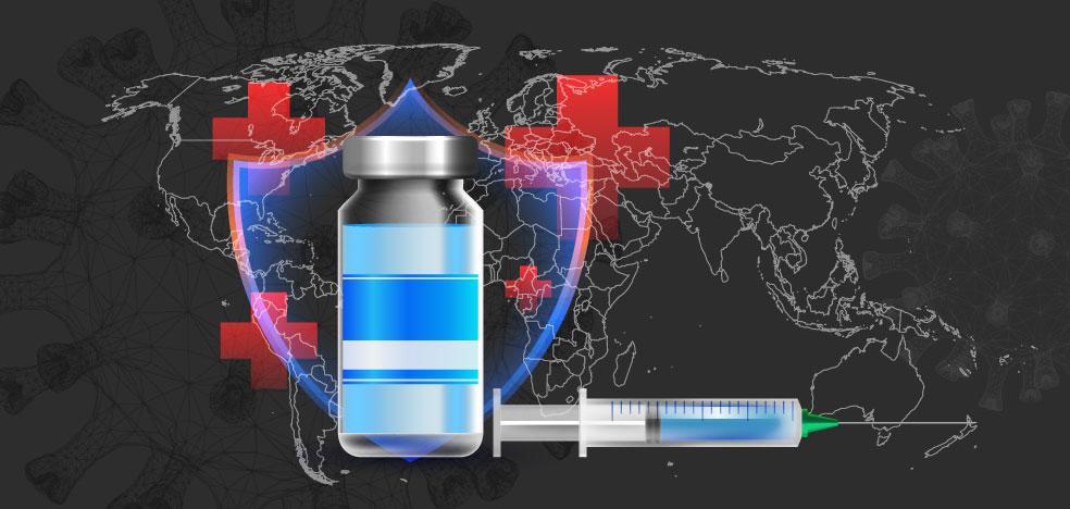 ¿Cuáles son los países que más vacunas han administrado contra la covid-19?