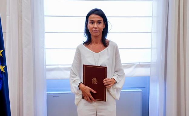 The still president of Adif, Isabel Pardo de Vera.