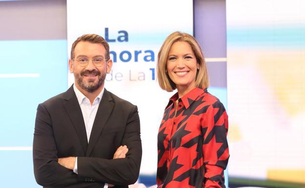 Marc Sala and Silvia Intxaurrondo