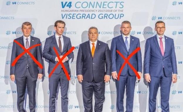 2018 Visegrad Leaders Summit with the participation of Austrian Chancellor Sebastian Kurz.