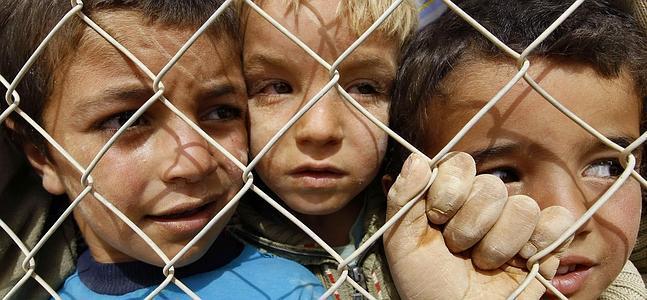 Resultado de imagen para siria ninos refugiados