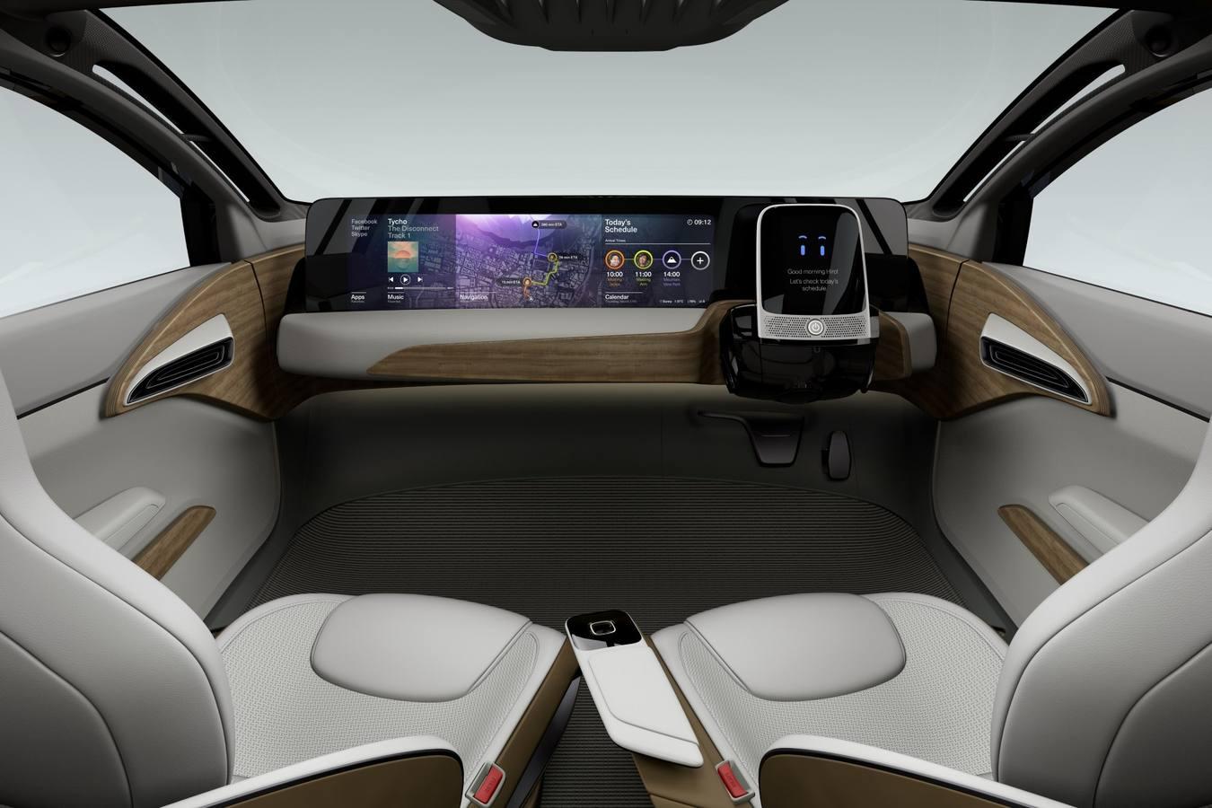 El vehículo autónomo, estrella del Salón del Automóvil de Tokio ...